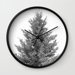 B&W White Spruce Wall Clock