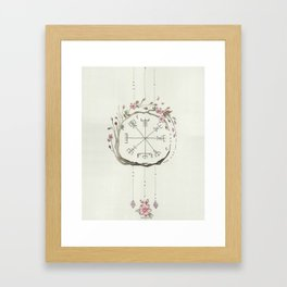 Sakura Vigsivir Protection Framed Art Print
