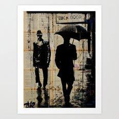 backdoor Art Print