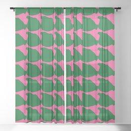 Puffers Sheer Curtain