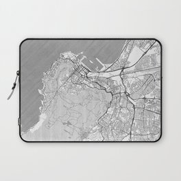 Cape Town Map Line Laptop Sleeve
