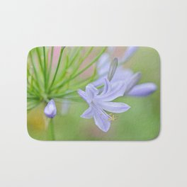 Simple Agapanthus Bath Mat