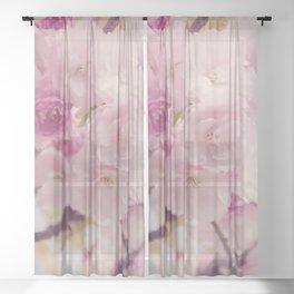 Bright of Cherry blossom #4 Sheer Curtain