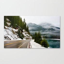 THE ROAD BACK Canvas Print