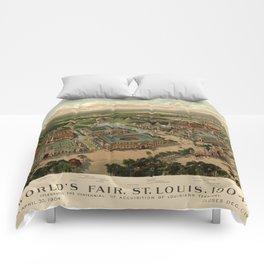 St. Louis Worlds Fair 1904 Comforters