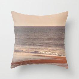 Costa Brava Summer Throw Pillow