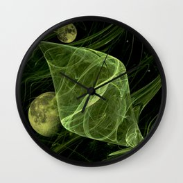 Cocons spatial Wall Clock