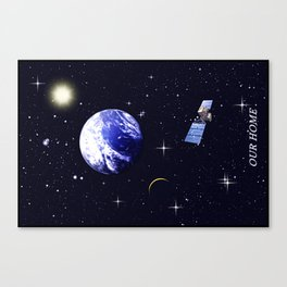 Our home. Canvas Print