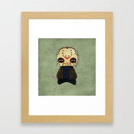 A Boy - Jason ( Friday the 13th) Framed Art Print