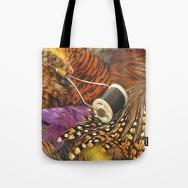 The Fly Tyers Spool Tote Bag