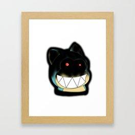 Devil Kuma Framed Art Print