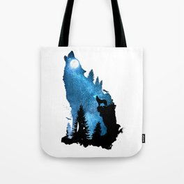 The Howling Wind Tote Bag