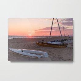 Willoughby Beach Sunrise Metal Print
