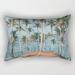 Palm trees 4 Rectangular Pillow