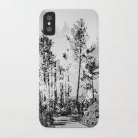 woodland iPhone & iPod Cases featuring Woodland by Schwebewesen • Romina Lutz
