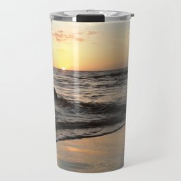 Pastel Sunset Travel Mug