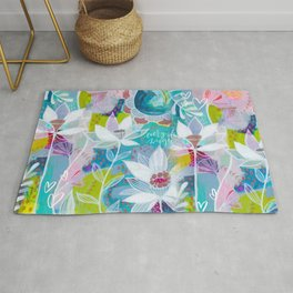 Every Day Magic Floral Rug