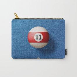 BALLS / Pool Billiard (eleven) Carry-All Pouch