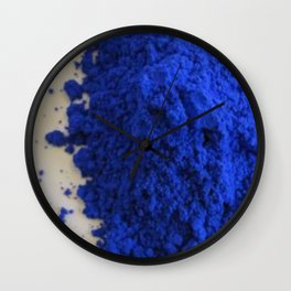 BLUE POWDER Wall Clock