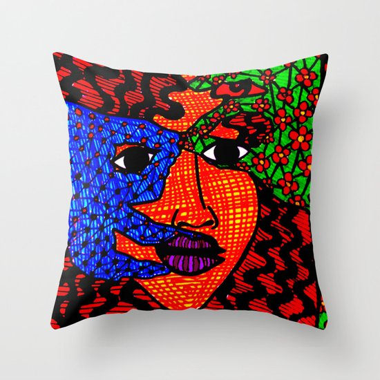 The String Theory Throw Pillow