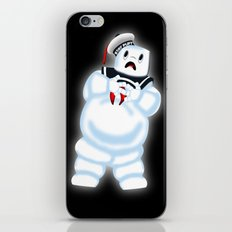 Scared Mr. Stay Puft iPhone & iPod Skin