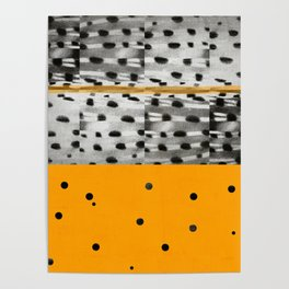 abstract circles I Poster