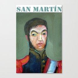 San Martin por Diego Manuel Canvas Print