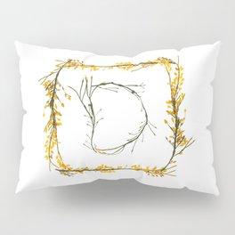 "Seaweed Alphabet ""D"" Pillow Sham"