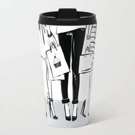 Every Woman Fashion Illustration Art Print Travel Mug