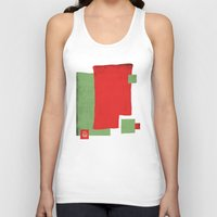 square Tank Tops featuring Square by Difilippo