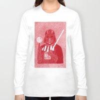 darth vader Long Sleeve T-shirts featuring Darth Vader by David Penela