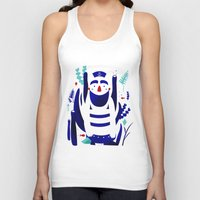 finding nemo Tank Tops featuring Captain Nemo by Fabiola Correas