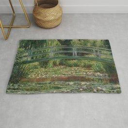 Claude Monet - Japanese Footbridge Rug