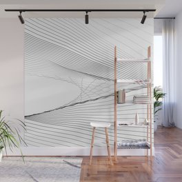 SNGLRTY WHT Wall Mural