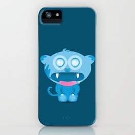 hungry monster iPhone Case
