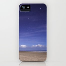 Painted Beach Sky iPhone Case