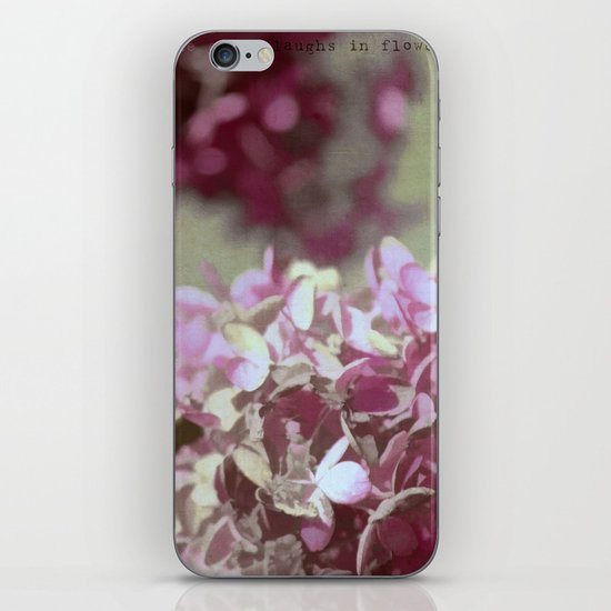 Hydrangeas No. 4 iPhone Skin