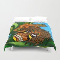 jojo Duvet Covers featuring Congo JoJo by BohemianBound