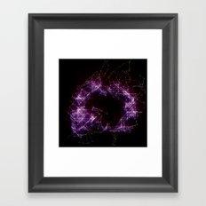 Artificial Constellation Framed Art Print