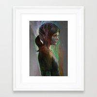 artgerm Framed Art Prints featuring The last hope by Artgerm™