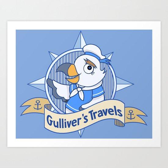 Gulliver's Travels Art Print
