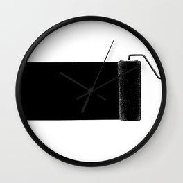 Paint roller Wall Clock