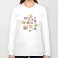 dots Long Sleeve T-shirts featuring Dots by Shelly Bremmer