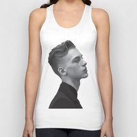 boys Tank Tops featuring Boys by Grace Teaney Art