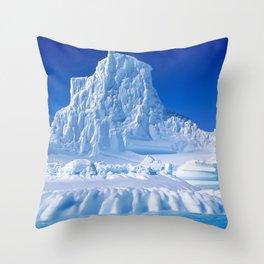 Patagonia Iceberg Mountain, Argentina color photograph - photography Throw Pillow