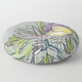 Protea bouquet Floor Pillow
