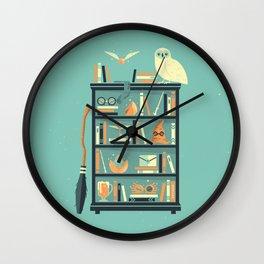 Potter Shelf   Rowling Wall Clock
