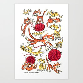 Year of the Tiger Art Print