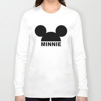 minnie mouse Long Sleeve T-shirts featuring MINNIE by ilola