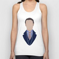 hannibal Tank Tops featuring Hannibal by Alice Wieckowska